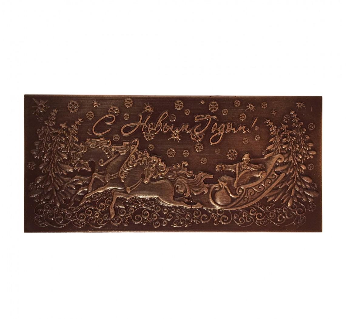 Шоколадные открытки к новому году, картинки