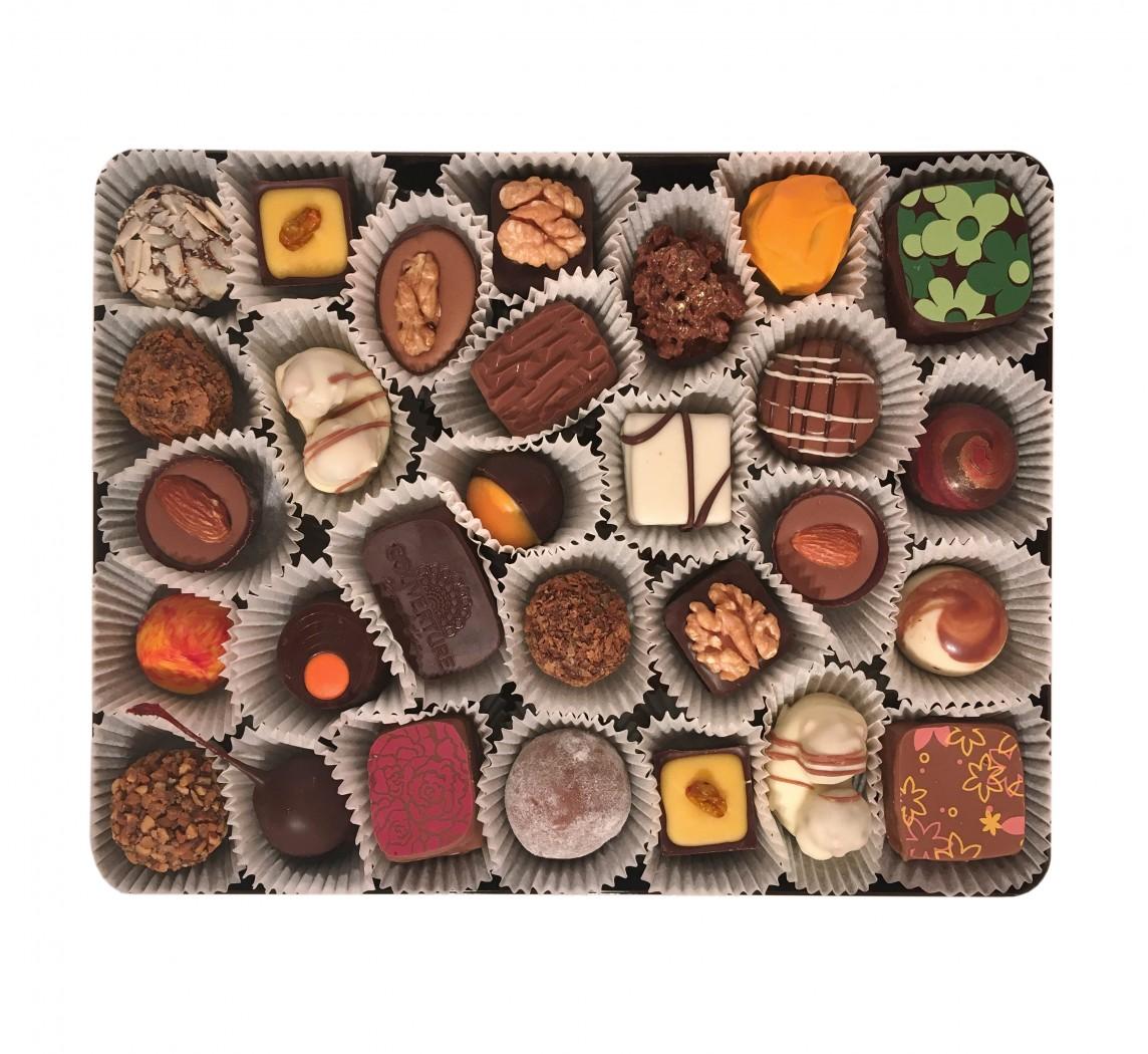 сколько коробок конфет